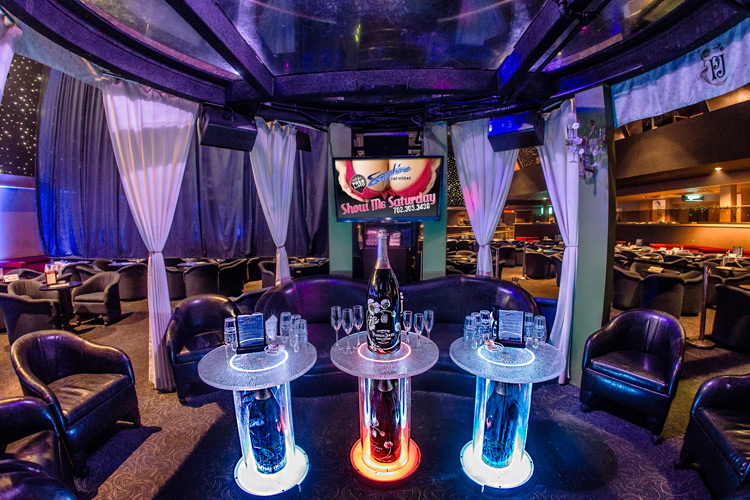 Take a tour of Sapphire's Gentlemen's Club in Las Vegas