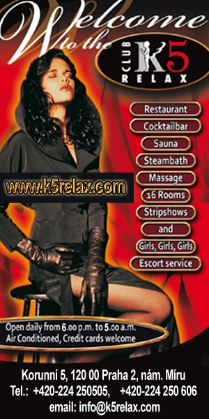 Czech Republic/Prague - Club K5 Relax - Side Banner